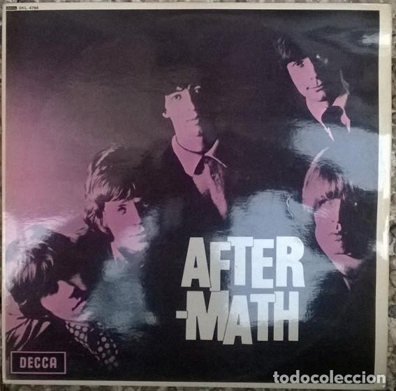 Rolling Stones  Aftermath/ After-Math  London, UK 1966 LP edición stereo de  1970 SKL 4786