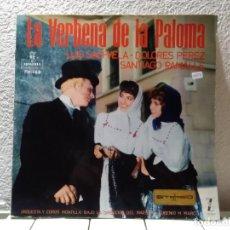Discos de vinilo: LA VERBENA DE LA PALOMA . Lote 140975266