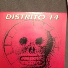 Discos de vinilo: DISTRITO 14 REINA GITANA, EMI 1993 SG PROMO. Lote 140991546