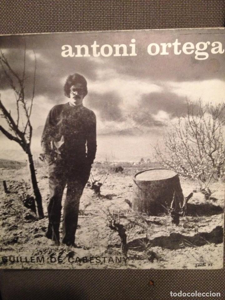 ANTONI ORTEGA: GRUP GUILLEM DE CABESTANY EP 1973 - CANÇÓ CATALUNYA NORD ESPRIU (Música - Discos - Singles Vinilo - Cantautores Internacionales)