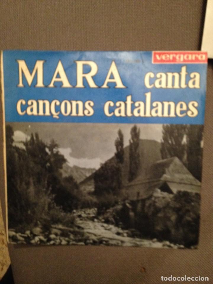 MARA CANTA CANÇONS CATALANES: EL TESTAMENT D'AMELIA + 8 VERGARA 1963 (Música - Discos - Singles Vinilo - Country y Folk)