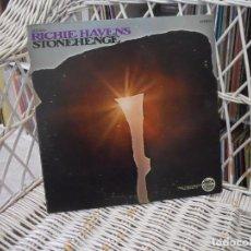 Discos de vinilo: RICHIE HAVENS – STONEHENGE .LP ORIGINAL USA 1969.FOLK ROCK/PSICODELIA. Lote 141000438
