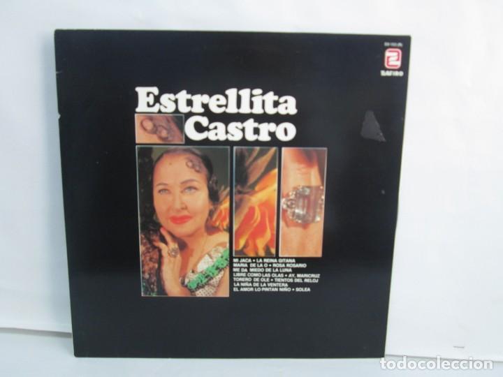 ESTRELLITA CASTRO. LP VINILO. ZAFIRO. 1984. VER FOTOGRAFIAS ADJUNTAS (Música - Discos - LP Vinilo - Flamenco, Canción española y Cuplé)