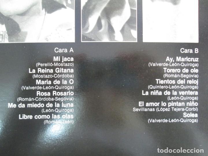 Discos de vinilo: ESTRELLITA CASTRO. LP VINILO. ZAFIRO. 1984. VER FOTOGRAFIAS ADJUNTAS - Foto 3 - 141003218