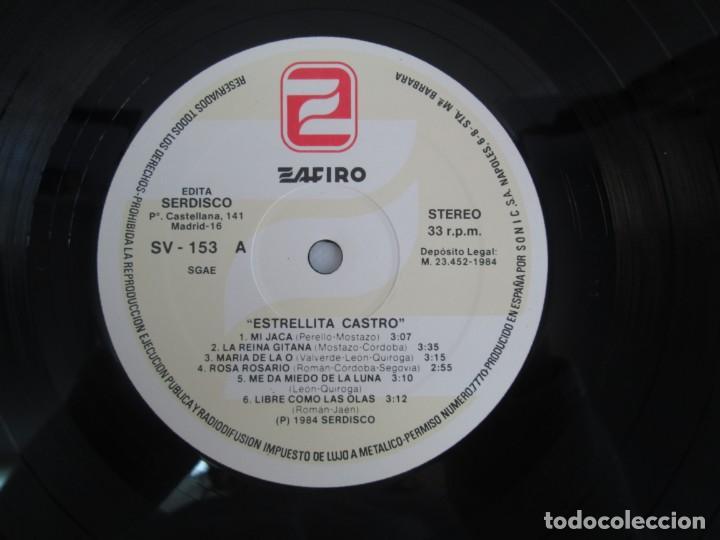 Discos de vinilo: ESTRELLITA CASTRO. LP VINILO. ZAFIRO. 1984. VER FOTOGRAFIAS ADJUNTAS - Foto 5 - 141003218