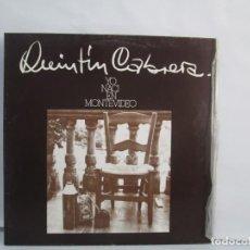 Discos de vinilo: YO NACI EN MONTEVIDEO. QUINTIN CABRERA. LP VINILO. EDIGSA EMI ODEON 1975. VER FOTOGRAFIAS. Lote 141004150