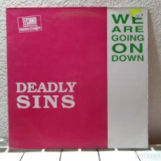 Discos de vinilo: WE ARE GOING ON DOWN. Lote 141009814