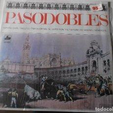 Discos de vinilo: PASODOBLES BANDA REGSON DE MADRID 1970 EL GATO MONTES,ESPAÑA CAÑI,GALLITO ETC. Lote 141013162