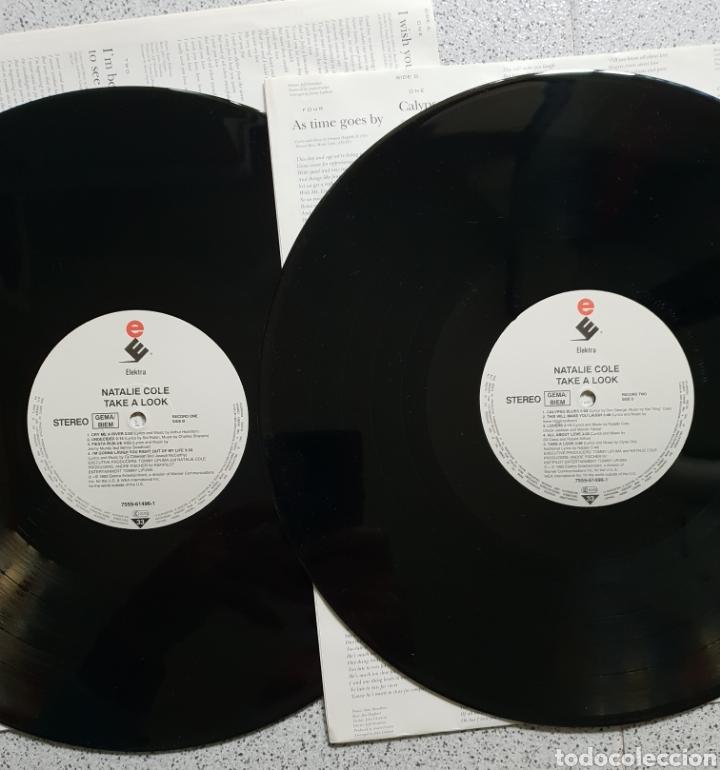 Discos de vinilo: DOBLE LP NATALIE COLE TAKE A LOOK - Foto 3 - 141014150