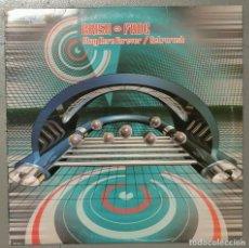 Discos de vinilo: NUMULITE LP 0017 BRISK + FADE STAY HERE FOREVER RETRORUSH XQUE RECORDS. Lote 141046570
