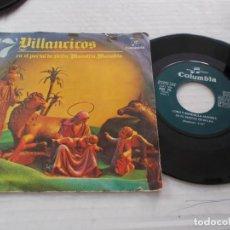 Discos de vinilo: VILLANCICOS, CORO Y RONDALLA ALEGRIA, EN EL PORTAL DE BELEN, MANOLITO,MANOLITO, . Lote 141082362