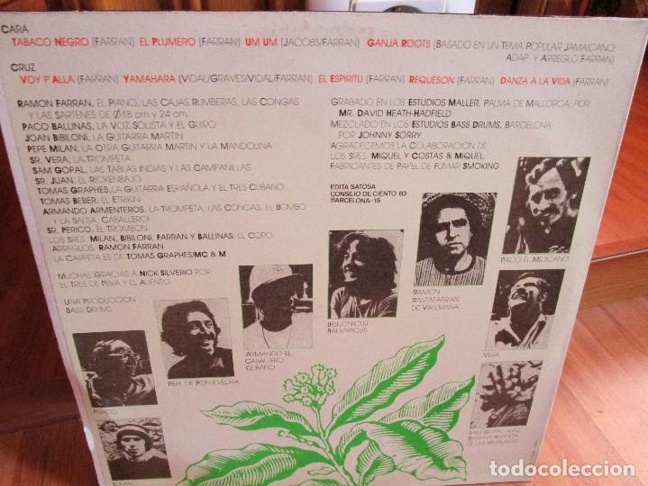 Discos de vinilo: LP GRUPO ESPAÑOL TABACO MISMO TITULO ESTE LP MUY BUEN ESTADO AÑO DE ESTA EDICION 1979 - Foto 2 - 141112094