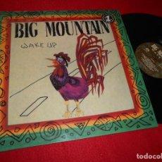 Discos de vinilo: BIG MOUNTAIN WAKE UP LP 1993 QUALITY EDICION ESPAÑOLA SPAIN RARO! REGGAE. Lote 141117122