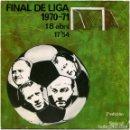 Discos de vinilo: VALENCIA CAMPIO - FINAL DE LIGA 1970-71 - 18 ABRIL 17'54 (2ª EDICIÓN) - SPIRAL. Lote 160888685