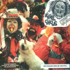 Discos de vinilo: KRUEL CIRCUS / CON 7 TEMAS Y UN FANZINE (EP). Lote 141160130