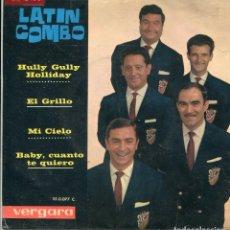 Discos de vinil: LATIN COMBO / HULLY GULLY HOLLIDAY + 3 (EP 1963). Lote 141163282