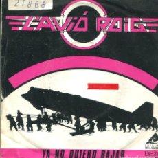 Discos de vinilo: L'AVIO ROIG / YA NO QUIERO BAJAR / NO SE ENTIENDE (SINGLE PROMO 1983). Lote 141164566