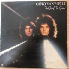 Discos de vinilo: DISCO VINILO LP , GINO VANNELLI ( JHE GIST OF JHE GEMINI ). Lote 141173142