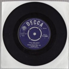 Discos de vinilo: BRIAN POOLE AND THE TREMELOES TWIST AND SHOUT 1963 ORIGINAL UK SINGLE DECCA. Lote 141173394