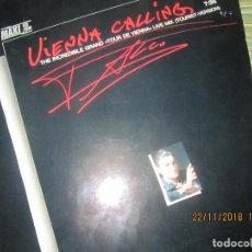 Discos de vinilo: FALCO - VIENNA CALLING MAXI 45 R.P.M. ORIGINAL ALEMAN - TELDE RECORDS 1985 - MUY NUEVO(5). Lote 141177246