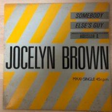 Discos de vinilo: JOCELYN. BROWN DISCO VINILO , MAXI SINGLE , 45 R. P . M.. Lote 141178682