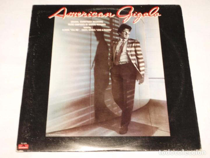 GIORGIO MORODER – AMERICAN GIGOLO (ORIGINAL SOUNDTRACK RECORDING) USA 1980 POLYDOR (Música - Discos - LP Vinilo - Pop - Rock - New Wave Extranjero de los 80)