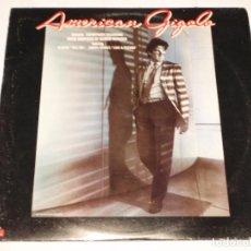Discos de vinilo: GIORGIO MORODER – AMERICAN GIGOLO (ORIGINAL SOUNDTRACK RECORDING) USA 1980 POLYDOR. Lote 141182966