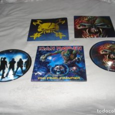 Discos de vinilo: IRON MAIDEN- THE FINAL FRONTIER DOBLE LP PICTURE DISC EDICION DEL 2010. Lote 141189378