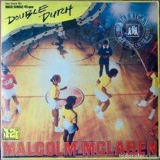 Discos de vinilo: MALCOLM MCLAREN : DOUBLE DUTCH [ESP 1983] 12'. Lote 141193554