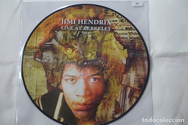 JIMI HENDRIX LIVE AT BERKELEY VOL.1 -LP PICTURE DISC -LTD.ED. NUM TO 500 COPIES (Música - Discos de Vinilo - EPs - Pop - Rock Extranjero de los 70)