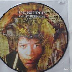Discos de vinilo: JIMI HENDRIX LIVE AT BERKELEY VOL.1 -LP PICTURE DISC -LTD.ED. NUM TO 500 COPIES . Lote 141202350