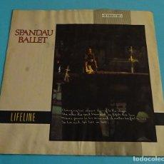 Discos de vinilo: SPANDAU BALLET. LIFE LINE.CHRYSALIS 1982. Lote 141214598