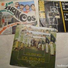 Discos de vinilo: BRINCOS-BRAVOS-PEKENIKES: POP ROCK ESPAÑOL DE LOS 60' EN BUEN ESTADO GRAL'OFERTA COLECCIONISTAS. Lote 141230846