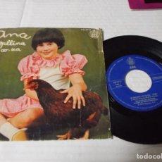 Discos de vinilo: ANA, LA GALLINA CO-CO-UA. Lote 141231498