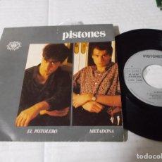 Discos de vinilo: PISTONES, EL PISTOLERO, METADONA.. Lote 141232430