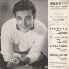 Discos de vinilo: FERNANDO - ESCUCHA - EP DE VINILO EN DISCOS MERCEDES. Lote 141234530