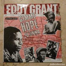 Discos de vinilo: MAXI SINGLE EDDY GRANT - GIMME HOPE JO'ANNA - HISPAVOX 1988. Lote 141242386