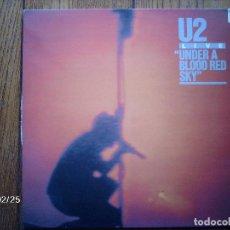 Discos de vinilo: U2 - LIVE - UNDER A BLOOD RED SKY . Lote 141251686