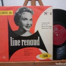 Discos de vinilo: LINE RENAUD - 25 CM EDITADO EN FRANCIA. Lote 141256190