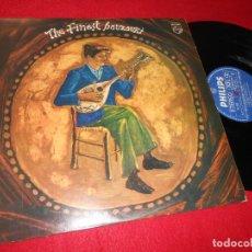 Discos de vinilo: THE FINEST BOUZOUKI MUSIC OF GREECE LP 1976 PHILIPS EDICION GRECIA GRECEE. Lote 141263862