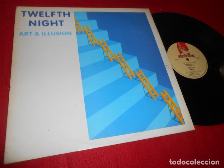 TWELFTH NIGHT ART AND ILLUSION MINILP MLP 1984 MUSIC FOR NATIONS EDICION FRANCESA FRANCIA FRANCE (Música - Discos - LP Vinilo - Heavy - Metal)