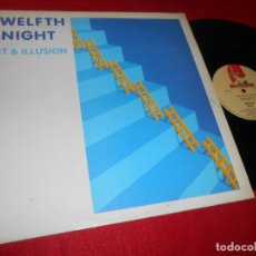 Discos de vinilo: TWELFTH NIGHT ART AND ILLUSION MINILP MLP 1984 MUSIC FOR NATIONS EDICION FRANCESA FRANCIA FRANCE. Lote 141263942
