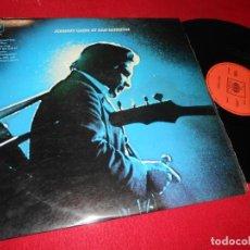 Discos de vinilo: JOHNNY CASH AT SAN QUENTIN LP 1970 CBS EDICION ESPAÑOLA SPAIN. Lote 141264014