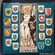 Discos de vinilo: EUROPA DE CARA AL SIGLO XXI - SPRINTERS, JUNIOR'S, INDONESIOS.... Lote 141287098