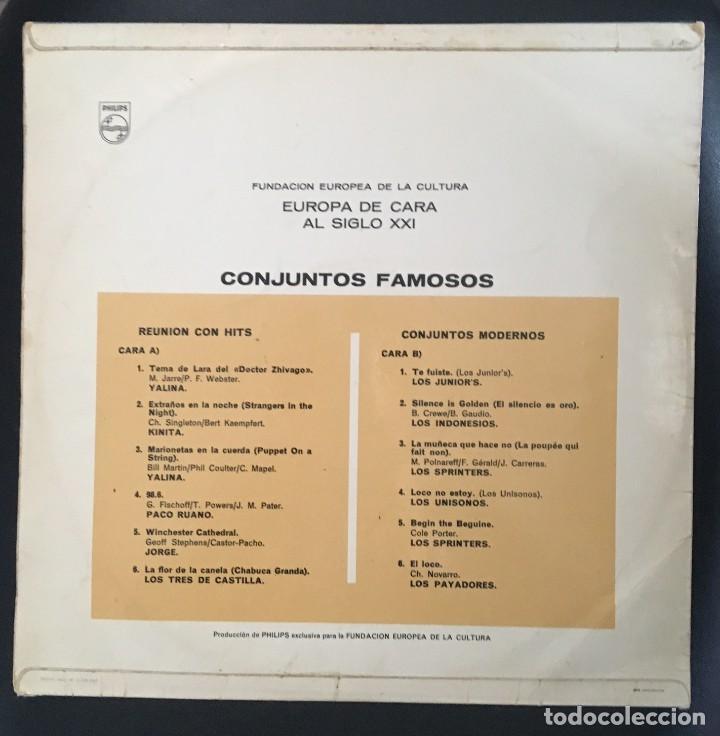 Discos de vinilo: EUROPA DE CARA AL SIGLO XXI - SPRINTERS, JUNIORS, INDONESIOS... - Foto 2 - 141287098