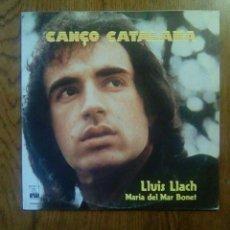 Discos de vinilo: CANÇO CATALANA - MARIA DEL MAR BONET, LLUIS LLACH, 1977, ARIOLA. SPAIN. Lote 141294316