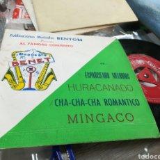 Discos de vinilo: ORQUESTA PABLO BENET EP ESPARCIENDO MELODÍAS + 3 1961. Lote 141295789