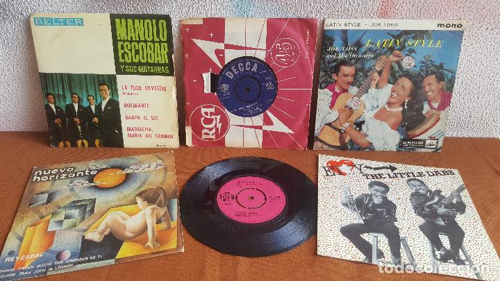 Discos de vinilo: Colección de 52 discos de vinilo, singles. MÍRALO!!! - Foto 3 - 141309250