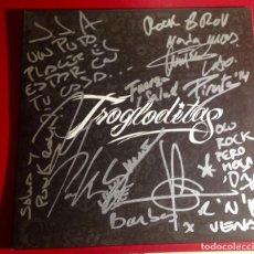 Discos de vinilo: TROGLODITAS FIRMADO. Lote 141312666