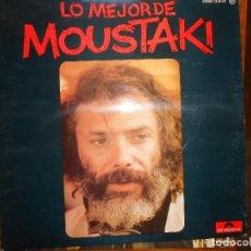 Discos de vinilo: LO MEJOR DE MOUSTAKI. Lote 141315410